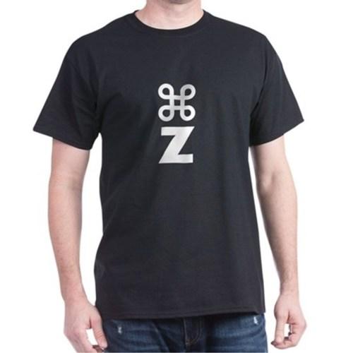 Command z undo tshirt