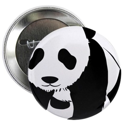 Panda bear 225 button